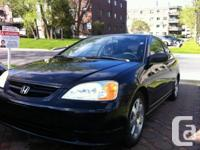 Honda civic coupe 187km, 1.7 ,manual 5 speed,very clean