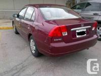 2003 Honda Civic LX 4Door available for sale. 4Cyl -