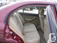 Make Honda Model Civic Year 2003 Colour Burgundy kms