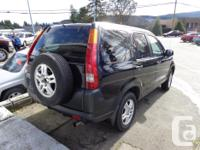 Make Honda Model CR-V Year 2003 Colour black kms