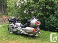 Absolutely mint 2003 Honda Goldwing with only 15,395