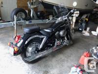 Make Honda Model Shadow Year 2003 kms 19500 Bike is In
