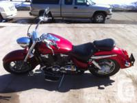 2003 Honda VTX 1800S Rare factory custom red 54xxx
