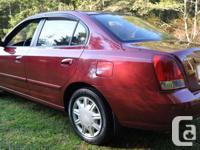 Make Hyundai Model Elantra Year 2003 Colour Red kms