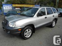 2003 hyundai santa fe gl auto tiptronic v6 AWD nEW