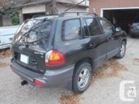 Make Hyundai Model Santa Fe XL Year 2003 Colour Black