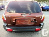 Make Hyundai Model Santa Fe Year 2003 Colour ORANGE