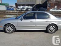 Make Hyundai Model Sonata Year 2003 Colour Silver kms