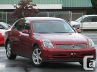 Year: 2003  Make: Infiniti  Model: G35  Trim: Sport
