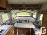 Beautiful, well cared trailer. Sleeps 7. Has fridge,