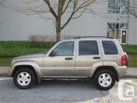 leather loaded Jeep Liberty Ltd. dealer serviced and