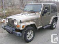 2003 Jeep TJ - Sahara  - 4 Dorr, 6 Cyl. 4.0 Litre