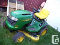 2003 John Deere Lawn Tractor L120, Automatic, Very good