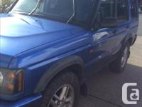 Make Land Rover Colour Cobalt Blue Trans Automatic kms