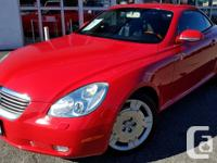 Make Lexus Model SC 430 Year 2003 Colour Absolutely