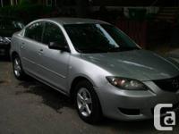Excellent condition Mazda 3 Brand new alternator Brand