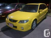 Amazing 2003 Mazda Protege 5 Hatchback for quick sale.