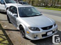 Make Mazda Model Protege5 Year 2003 Colour Silver kms