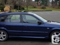 Make Mazda Model Protege5 Year 2003 Colour Blue kms