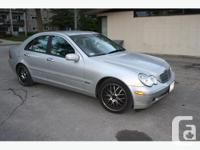 Mercedes 2003 Mercedes-Benz C-Class 240 Sedan with up
