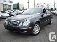 Price: $20,995 plus tax Year: 2003  Make: Mercedes-Benz