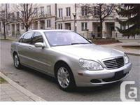 Markham, ON 2003 Mercedes-Benz S500 4Matic $17,400 This