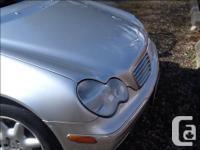 Make Mercedes-Benz Model C240 Year 2003 Colour Silver