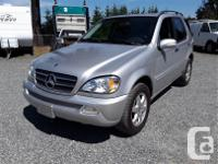 Make Mercedes-Benz Model ML500 Year 2003 Colour silver