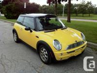 2003 Mini Cooper, automatic tiptronic, 163000 km, black