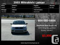Check out our website for more pics  2003 Mitsubishi