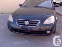 2003 Nissan Altima 3.5 V6 for COMPONENTS JUST! For PART