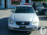 Year 2003 Colour silver kms 157500 2003 Nissan Altima