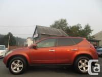 Make Nissan Model Murano Year 2003 Colour orange kms