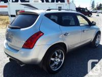Make Nissan Model Murano Year 2003 Colour Silver kms