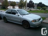 2003 Nissan Sentra For Sale:  Description  2003 Nissan