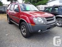 Make Nissan Model Xterra Colour red Trans Automatic
