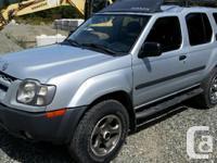 Make Nissan Model Xterra Colour Silver Trans Automatic