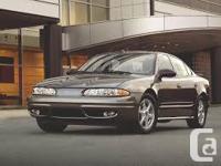 Make Oldsmobile Model Alero Year 2003 Colour Black kms