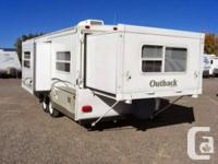 25' trip trailer with manual 4' back slide and an