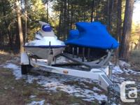 I am selling 2 jet skis with trailer and anchor system