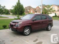 Windsor, ON 2003 Pontiac Aztek $8,500 This Pontiac
