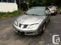 2003 Pontiac Sunfire , Automatic, silver, 155820 KM,
