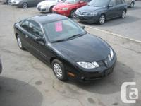 2003 PONTIAC SUNFIRE,BLACK ON DARK GREY