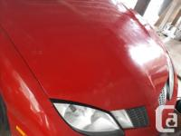 Make Pontiac Model Sunfire Year 2003 Colour Red kms