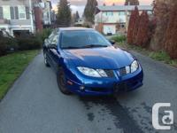 Make Pontiac Model Sunfire Year 2003 Colour BLUE kms