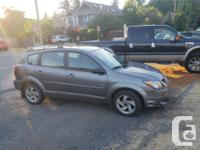 Make Pontiac Model Vibe Year 2003 Colour Silver kms