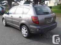 Make Pontiac Model Vibe Year 2003 Colour Grey kms