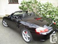 Make Porsche Model Boxster Year 2003 Colour black kms