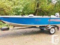 2003 boat, 2003 trailer registered, 2011 25hp Yamaha 2