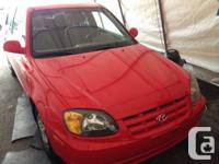 2003 Hyundai Accent GS 2door Hatchback 5spd Manual